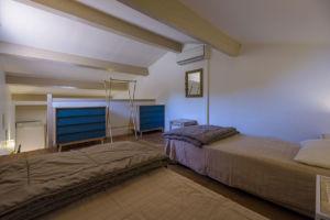 Chambre pour 2 personnes villa Santa Giulia
