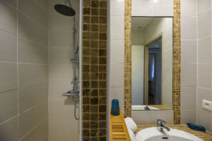 Salle de bain mini-villas Porto Vecchio