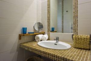 Salle de bain villa Santa Giulia