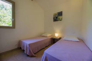 Chambre pour 2 personnes résidence Santa Giulia