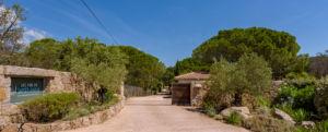 Allée résidence Santa Giulia