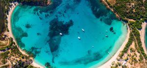 Plage de Santa Giulia Sud Corse