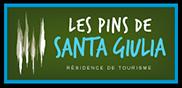 Les pins de Santa Giulia panneau