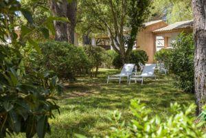 Parc privé dans résidence Santa Giulia