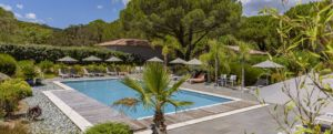 Grande piscine résidence Santa Giulia