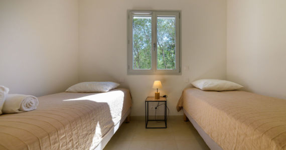 Chambre Location villa Santa Giulia Porto-Vecchio