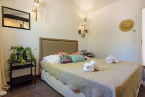 Chambre confort location villa Palombaggia