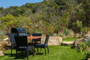 Jardin privé location villa Palombaggia