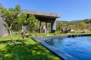 Piscine privée location villa Palombaggia