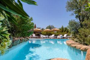 Pisine privée location villa Palombaggia