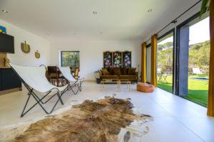 Salon location villa Palombaggia