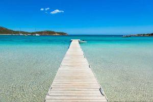 Les plages du Sud sont les plus belles de Corse mais Santa Giulia est celle qui a le plus de charme...
